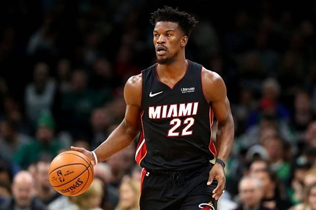 El partido en casa del Heat contra el Jazz