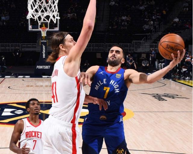 El récord personal de Porter de 39 puntos, la pequeña victoria de los Nuggets envía a los Rockets 4 derrotas consecutivas