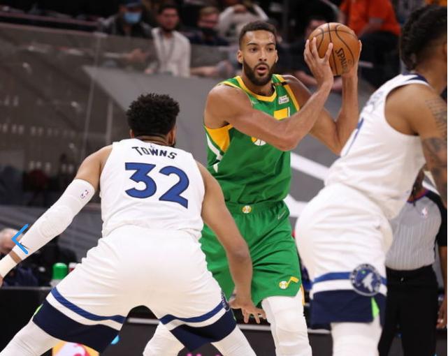 Downs 24 + 12 Bojan 30 puntos, Timberwolves vencen a Jazz