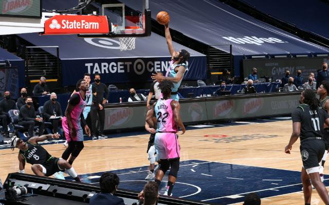 Timberwolves venció al Heat