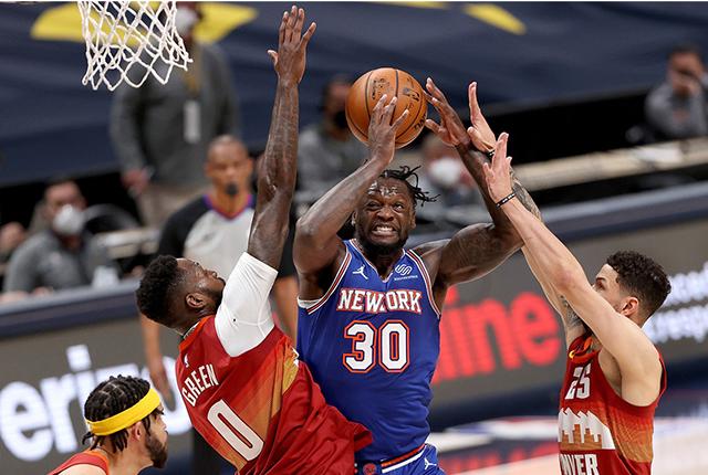 Los Nuggets vencieron a los Knicks