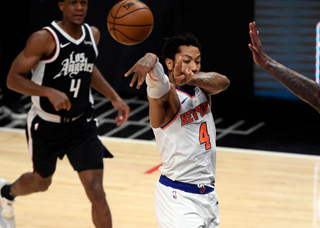 Los Knicks vencieron a los Clippers